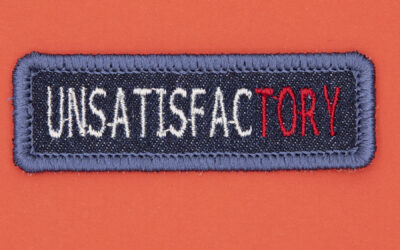 UnsatisfacTORY – Patches as Protest